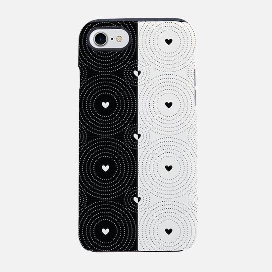 Hearts iPhone 7 Tough Case