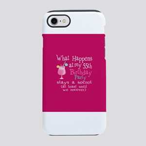 Fun 55th Birthday Party IPhone 8 7 Tough Case