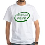 Transplant Inside White T-Shirt
