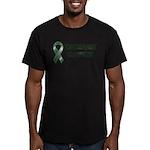 Transplant Inside Men's Fitted T-Shirt (dark)
