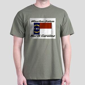 Winston-Salem North Carolina Dark T-Shirt