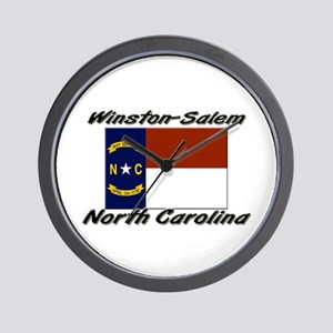 Winston-Salem North Carolina Wall Clock