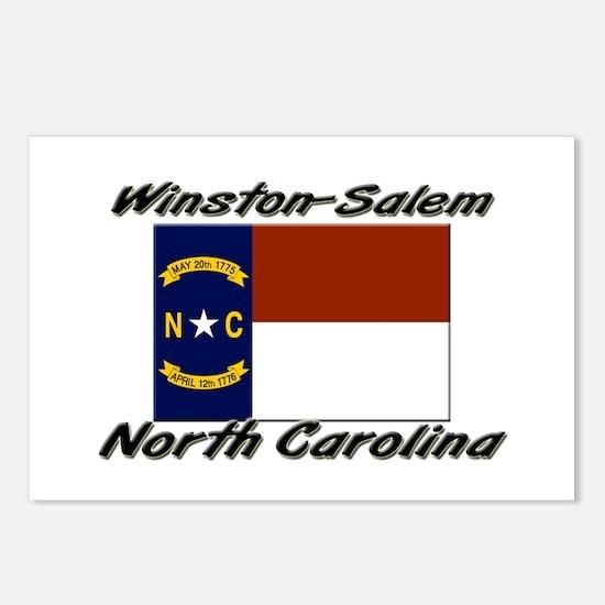 Winston-Salem North Carolina Postcards (Package of