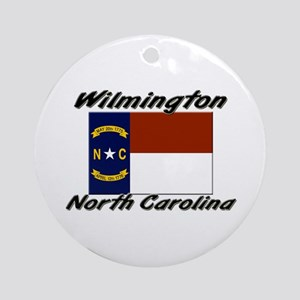 Wilmington North Carolina Ornament (Round)