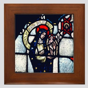 St Agnes Framed Tile