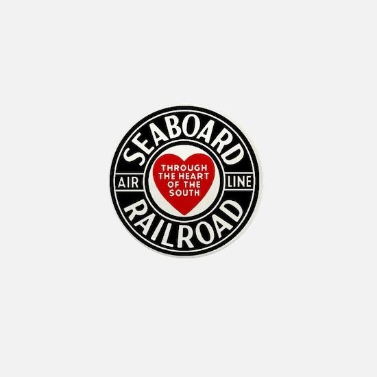 Seaboard RR Line Mini Button