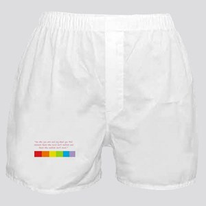 Be who you are Boxer Shorts