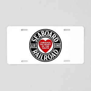 Seaboard RR Line Aluminum License Plate
