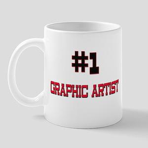 Number 1 GRAPHIC ARTIST Mug