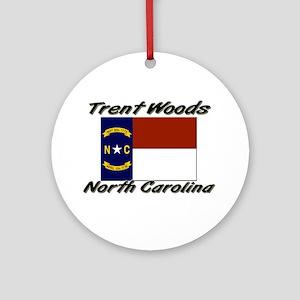 Trent Woods North Carolina Ornament (Round)