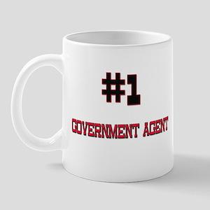 Number 1 GOVERNMENT AGENT Mug