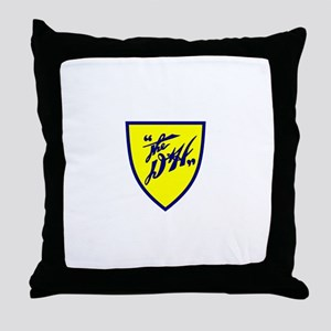 D&H railway shield Throw Pillow