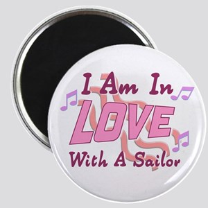 Love with a Sailor Magnet
