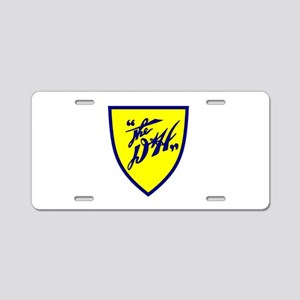 D&H railway shield Aluminum License Plate