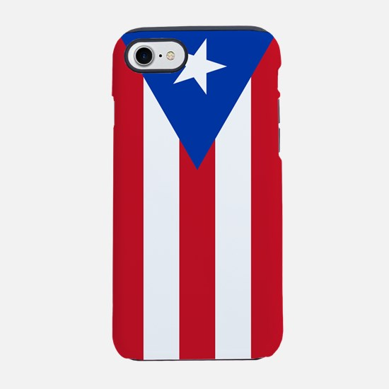 Flag of Puerto Rico iPhone 7 Tough Case