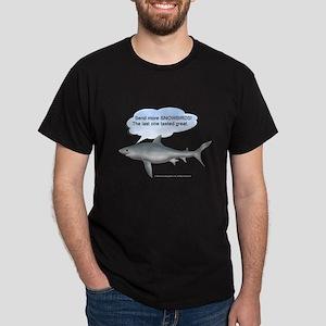 Send More Snowbirds Black T-Shirt