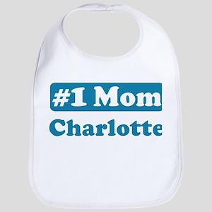 #1 Mom Charlotte Bib