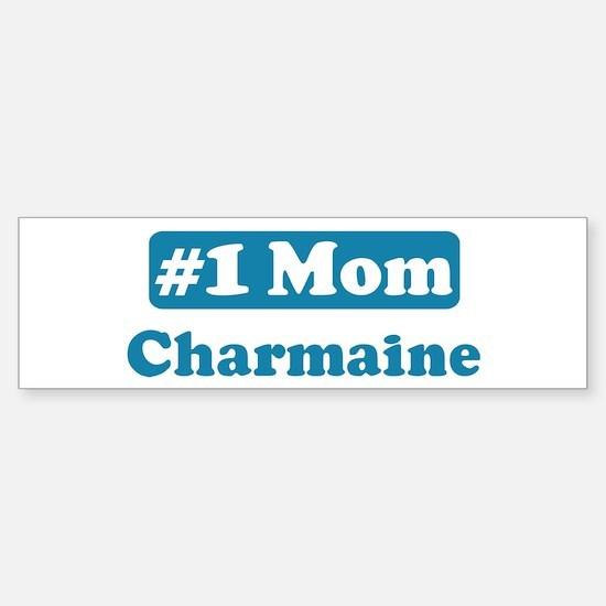 #1 Mom Charmaine Bumper Bumper Bumper Sticker