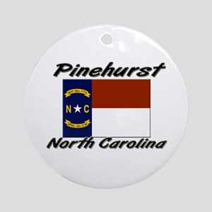 Pinehurst North Carolina Ornament (Round)
