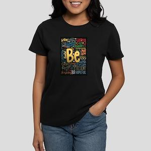 Be Positive, Nice, Brav Women's Cap Sleeve T-Shirt