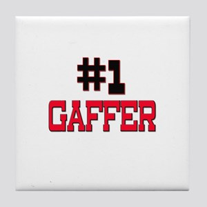 Number 1 GAFFER Tile Coaster