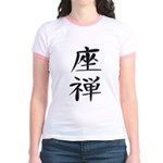 Zazen - Kanji Symbol Jr. Ringer T-Shirt
