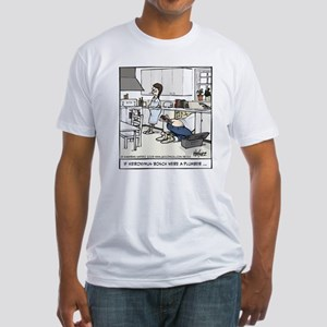 Hieronymus Bosch, Plumber Fitted T-Shirt
