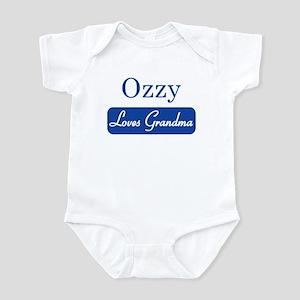 Ozzy loves grandma Infant Bodysuit