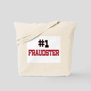 Number 1 FRAUDSTER Tote Bag