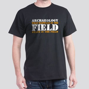 Archaeology Black T-Shirt