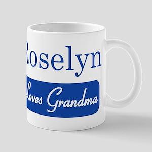 Roselyn loves grandma Mug