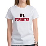 Number 1 FORESTER Women's T-Shirt