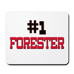 Number 1 FORESTER Mousepad