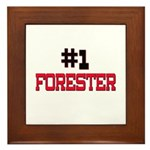 Number 1 FORESTER Framed Tile