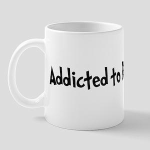 Addicted to Body Piercing Mug