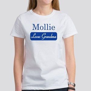Mollie loves grandma Women's T-Shirt