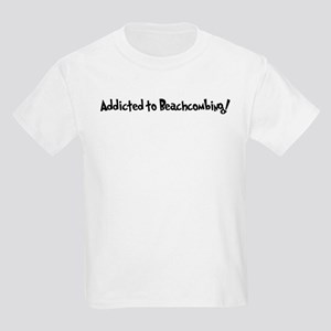 Addicted to Beachcombing Kids T-Shirt