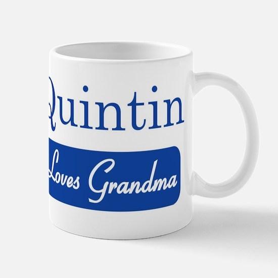 Quintin loves grandma Mug