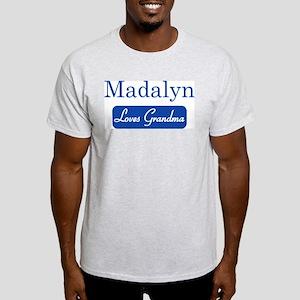 Madalyn loves grandma Light T-Shirt