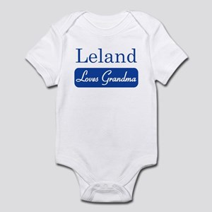Leland loves grandma Infant Bodysuit