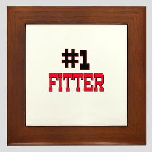 Number 1 FITTER Framed Tile