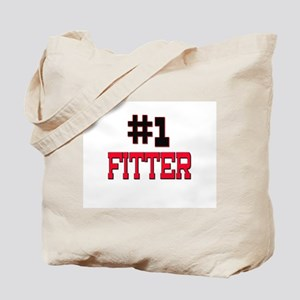 Number 1 FITTER Tote Bag