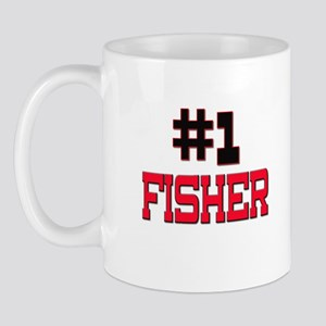 Number 1 FISHER Mug
