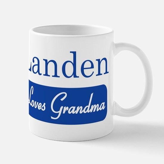 Landen loves grandma Mug