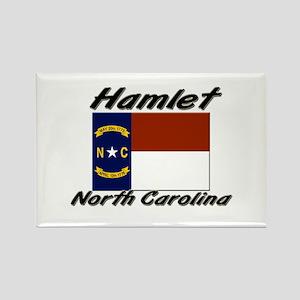 Hamlet North Carolina Rectangle Magnet