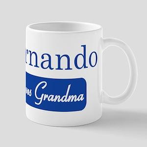 Fernando loves grandma Mug