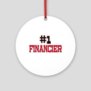 Number 1 FINANCIER Ornament (Round)