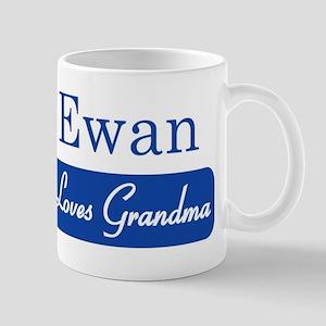 Ewan loves grandma Mug