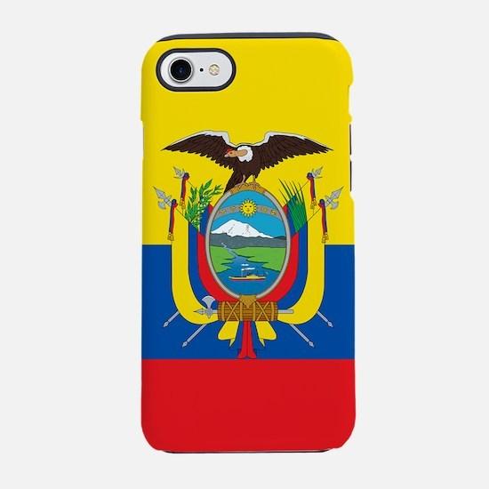 Flag of Ecuador iPhone 7 Tough Case