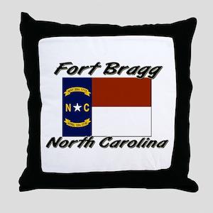 Fort Bragg North Carolina Throw Pillow